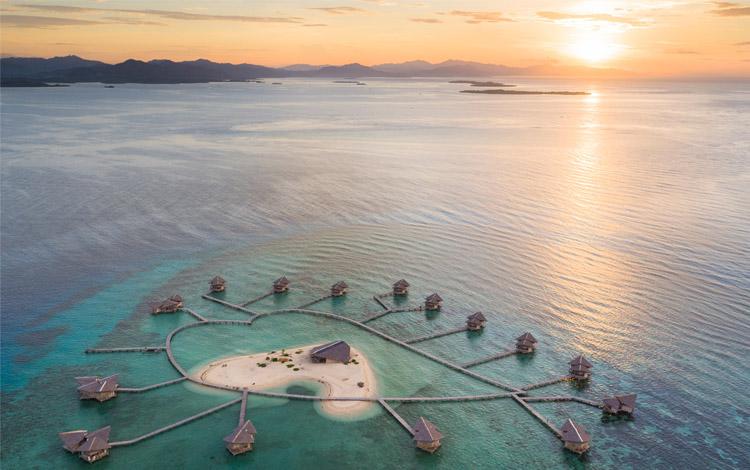 Pulau Cinta Gorontalo - Tempat honeymoon romantis Indonesia