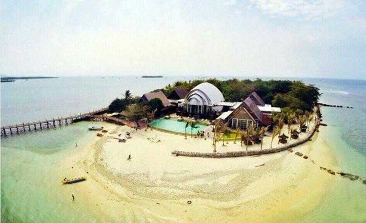 Tempat bulan madu di Indonesia - Pulau Umang, Banten