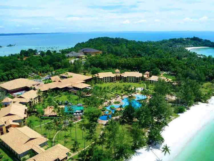 Tempat bulan madu di Indonesia - Pulau Bintan
