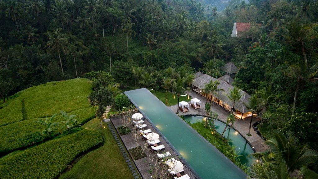 Tempat bulan madu di Indonesia - Ubud