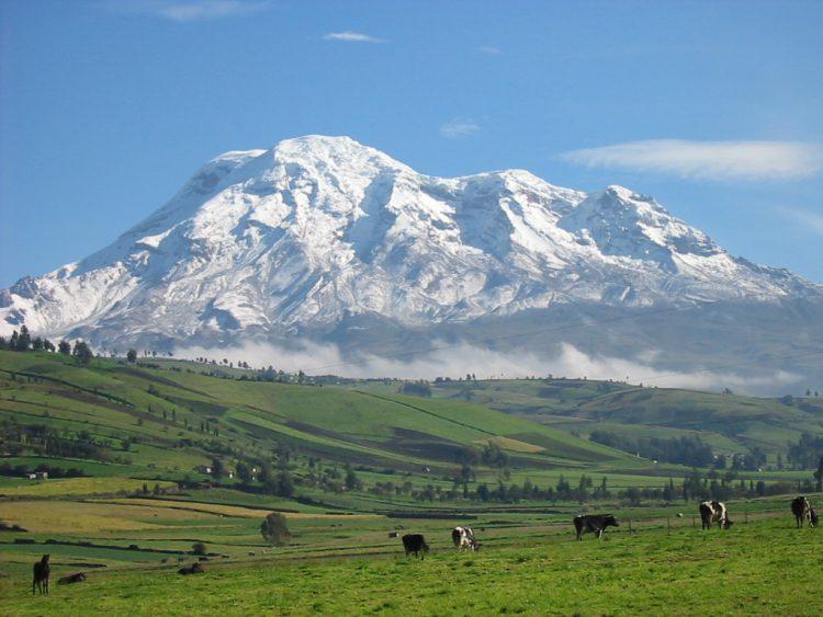 Gunung Chimborazo (Ekuador) - Tempat Tertinggi - Tempat paling ekstrim di dunia