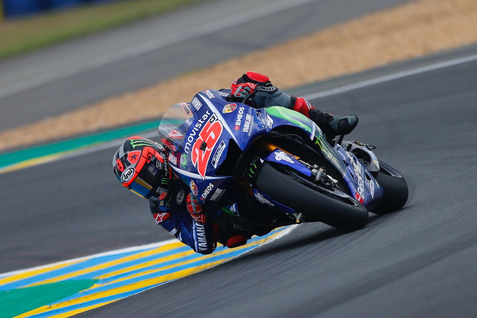 Valentino Rossi Terjatuh di Lap terakhir MotoGP Prancis