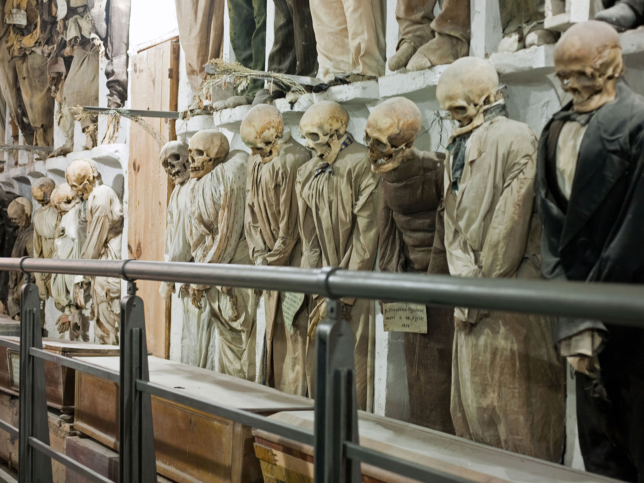 Rome Catacombs Tour With Capuchin Crypts