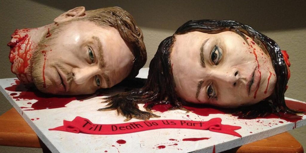 Kue-Kue Penuh Seni Yang menyeramkan!! Hanya Orang Pemberani Yang Mampu Menyicipinya