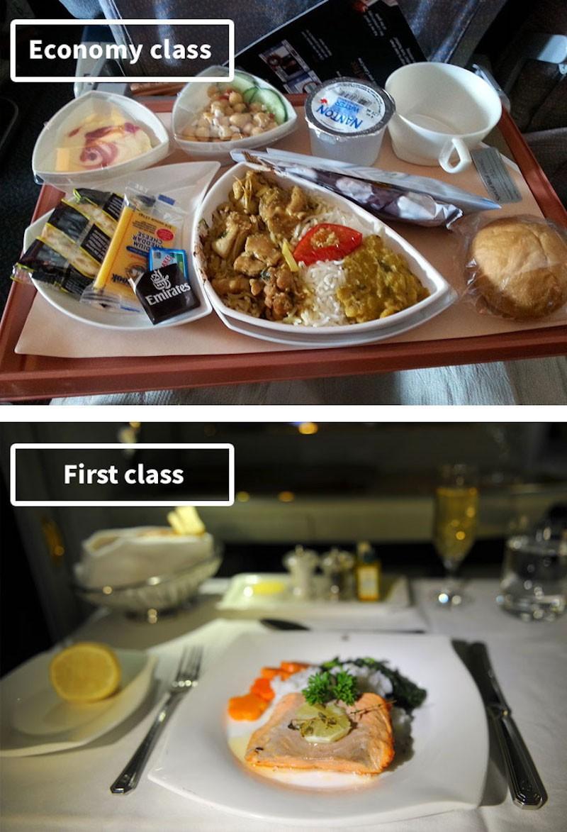 perbedaan makanan kelas ekonomi dan bisnis 7 - Blog Unik