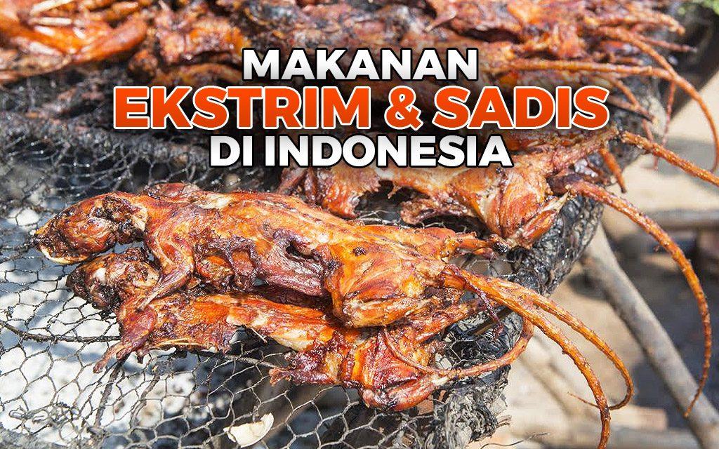 Wow!! Makanan Ekstrim Khas Indonesia Ini Tak Kalah Ekstrim Dari Luar Negeri Loh!! Kalian Sanggup Makannya??