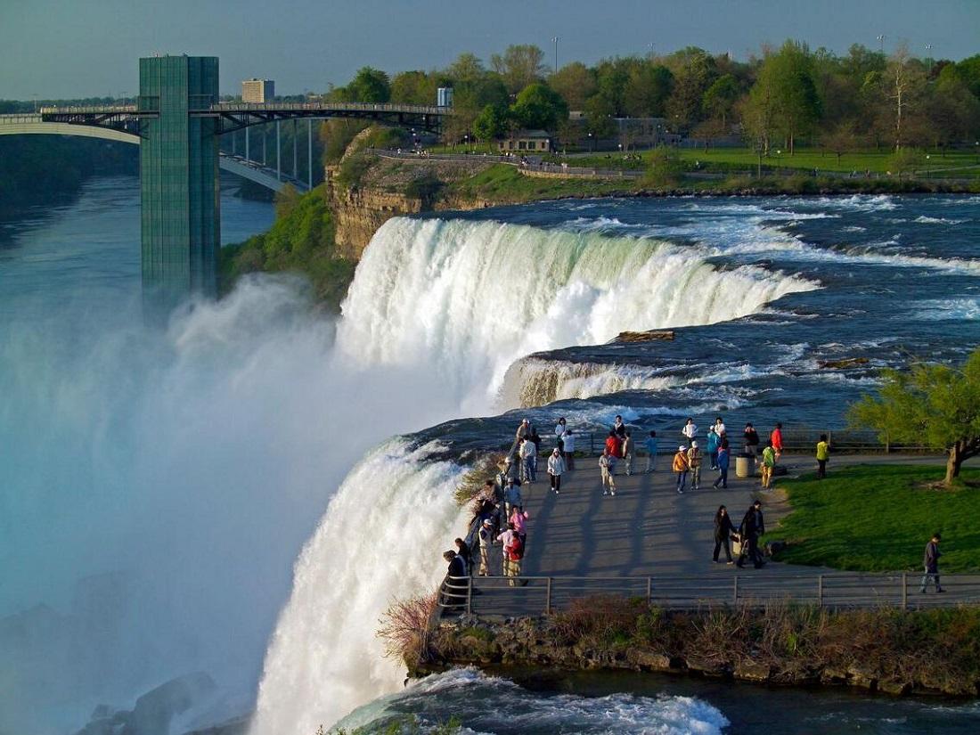 Air Terjun Niagara  Amerika Blog Unik