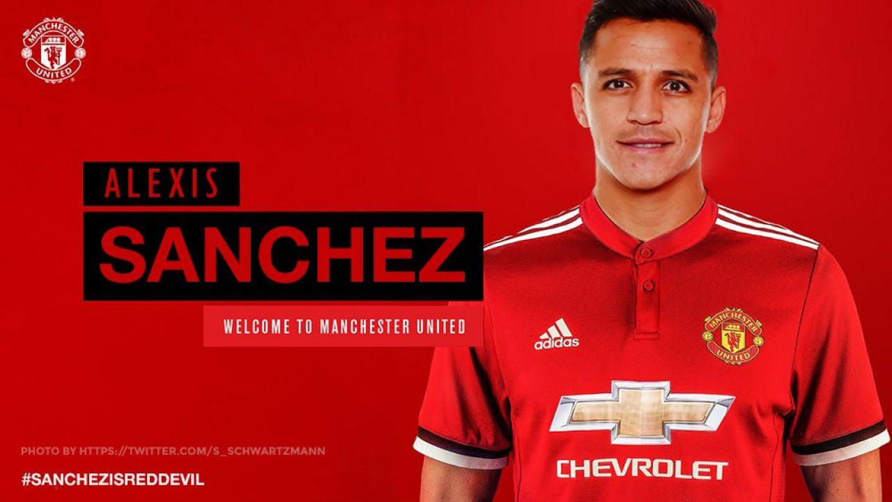 Saga Transfer Alexis Sanchez Ke MU Ia Terlihat Telah