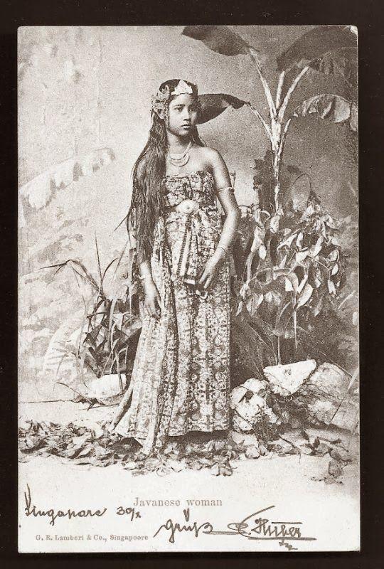 Potret Kecantikan Wanita Indonesia Jaman Dulu 4
