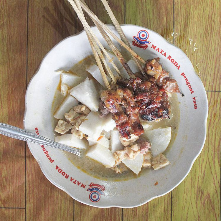 Tempat makan murah di Jogja - Sate Kere Pak Mardi