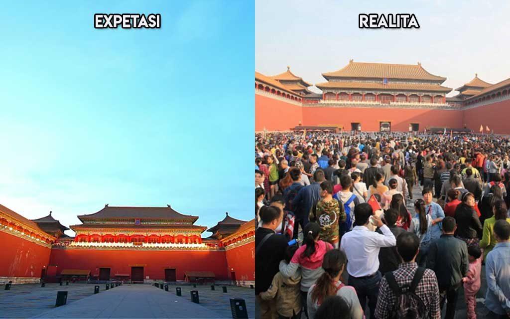 Realita vs Expetasi Tempat Liburan Tak Seindah Yang Kamu Bayangkan