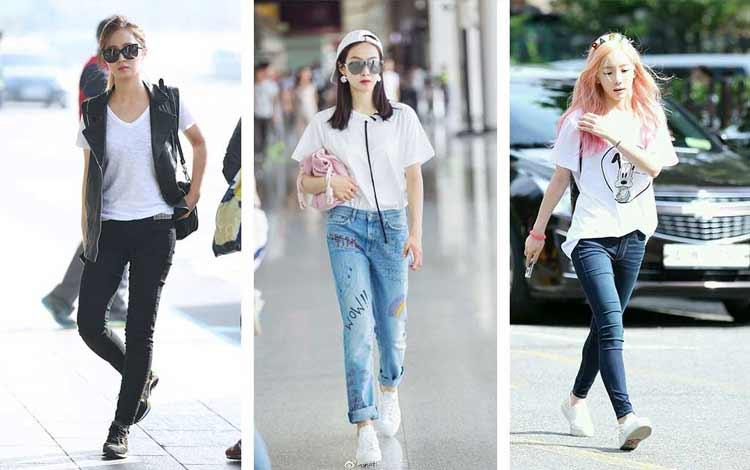 Foto Baju Artis Korea Tips Fashion Tampil Sporty Ala Artis Korea Blog Unik
