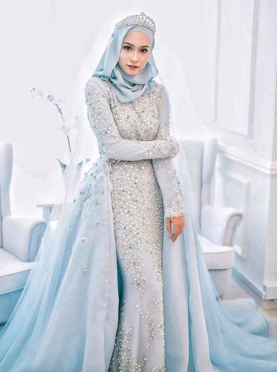 Inspirasi Baju Pengantin Muslimah Yang Bisa Kamu Tiru Untuk Akad