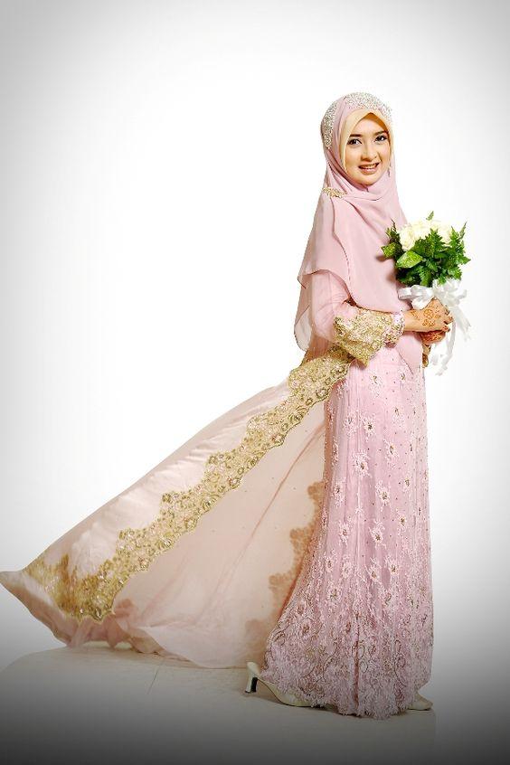 Inspirasi Baju Pengantin Muslimah Yang Bisa Kamu Tiru