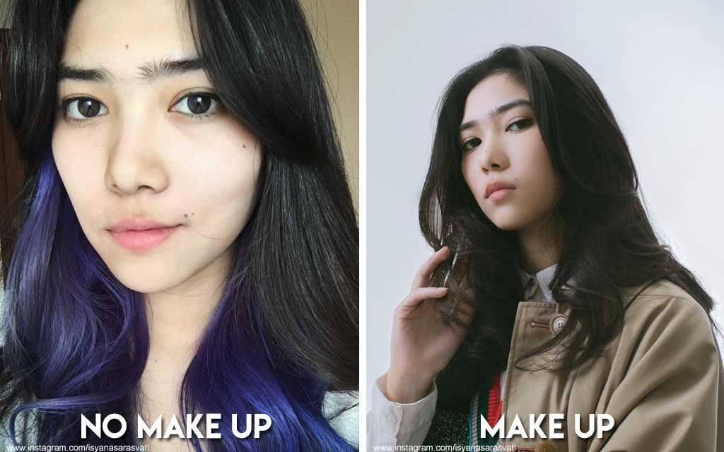 6 Foto Artis Indonesia yang tetap cantik walau tanpa make up