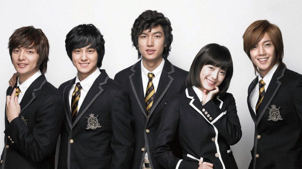 Seragam Sekolah Drama Korea Yang Bagus - Boys Over Flowers