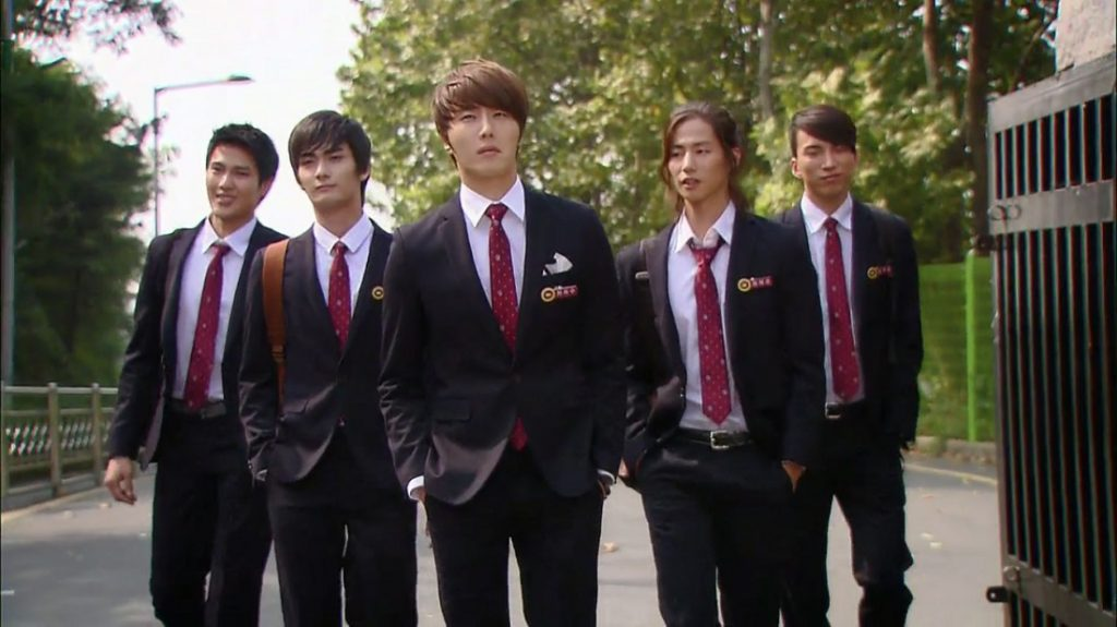 Seragam Sekolah Drama Korea Yang Bagus - Flower Boy Ramen Shop