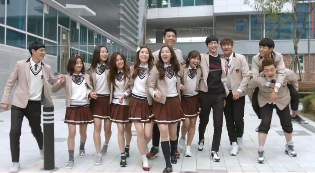 Seragam Sekolah Drama Korea Yang Bagus - Sassy Go Go