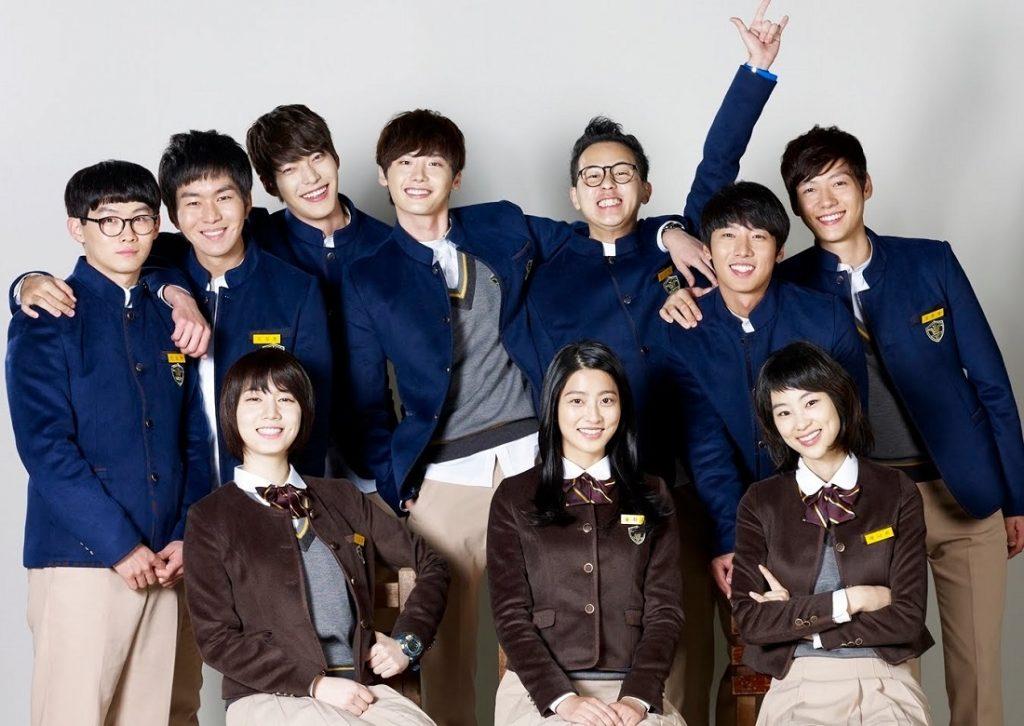 Seragam Sekolah Drama Korea Yang Bagus - School 2013