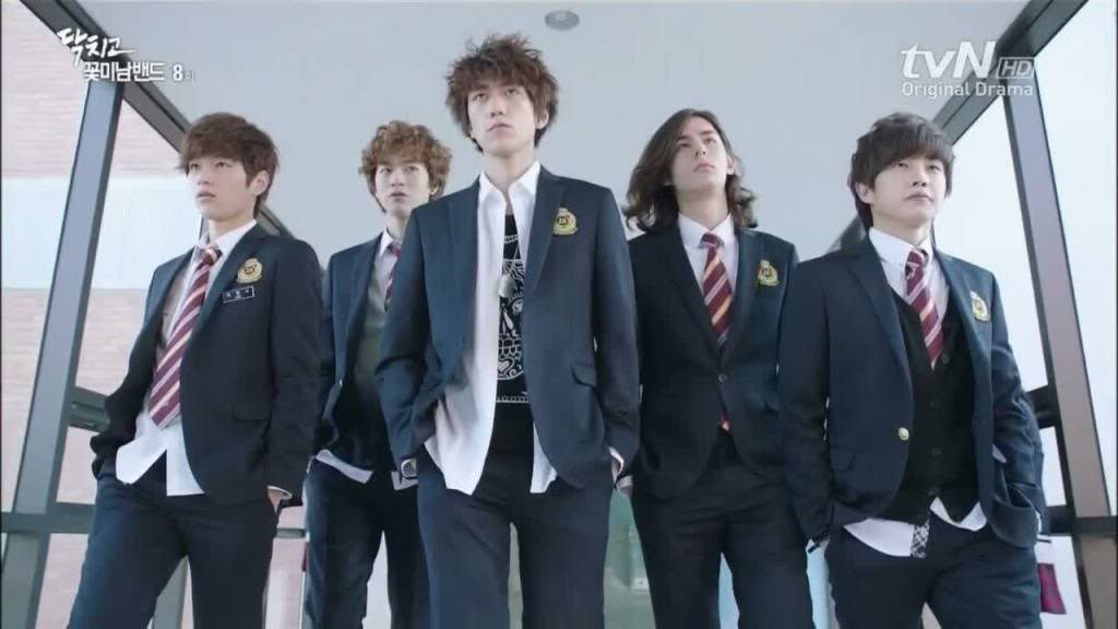 Seragam Sekolah Drama Korea Yang Bagus - Shut Up Flower Boyband