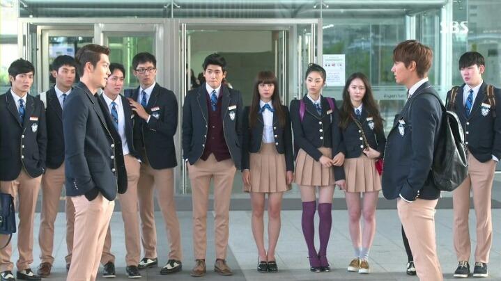 Seragam Sekolah Drama Korea Yang Bagus - The Heirs
