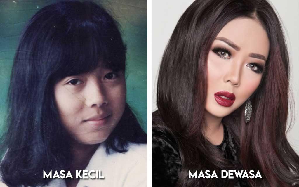 Deretan Foto Foto Artis Indonesia Semasa Kecil Dan Remaja Blog Unik
