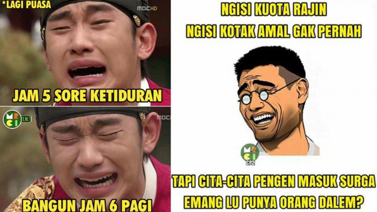 Meme Lucu Dan Unik Ramadhan Blog Unik