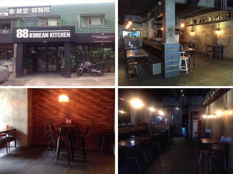 Restaurant Korea di Jakarta - 88 Korean Kitchen