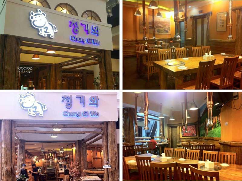 Restaurant Korea di Jakarta - Chung Gi Wa