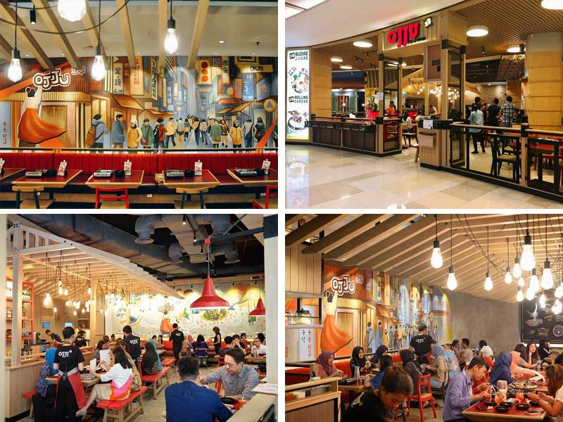 Restaurant Korea di Jakarta - Ojju