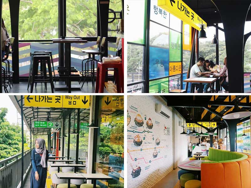 Restaurant Korea di Jakarta - Patbingsoo Korean Dessert House