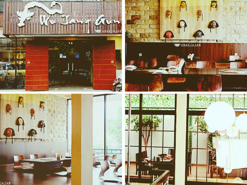 Restaurant Korea di Jakarta - Wu Jang Gun