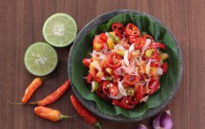Aneka Jenis sambal di Indonesia - Sambal dabu dabu