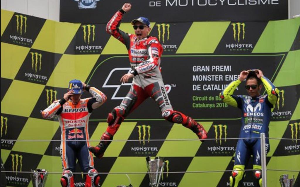 Hasil MotoGP Catalunya 2018, Jorge Lorenzo Lagi-lagi Menjadi Pemenang
