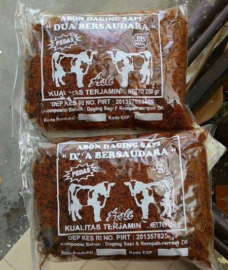 Oleh-oleh khas Surabaya - Abon Sapi Padmosusastro
