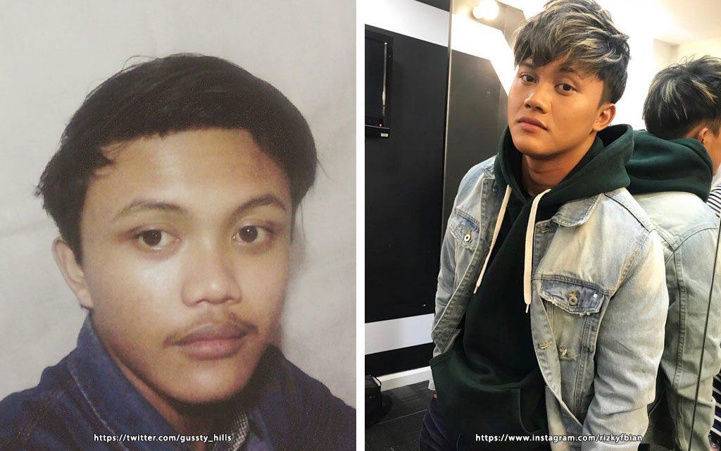 orang biasa yang memiliki wajah mirip artis indonesia