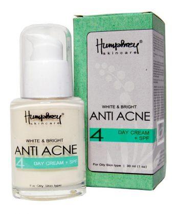 Krim Penghilang Jerawat - Humphrey Skin Care White & Bright Anti Acne