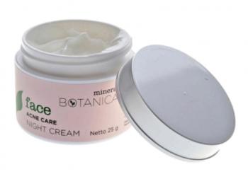 Krim Penghilang Jerawat - Mineral Botanica Acne Care Night Cream