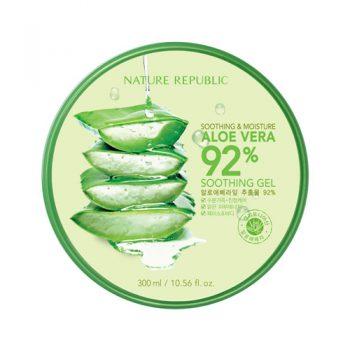 Krim Penghilang Jerawat - Nature Republic Aloe Vera Soothing Gel