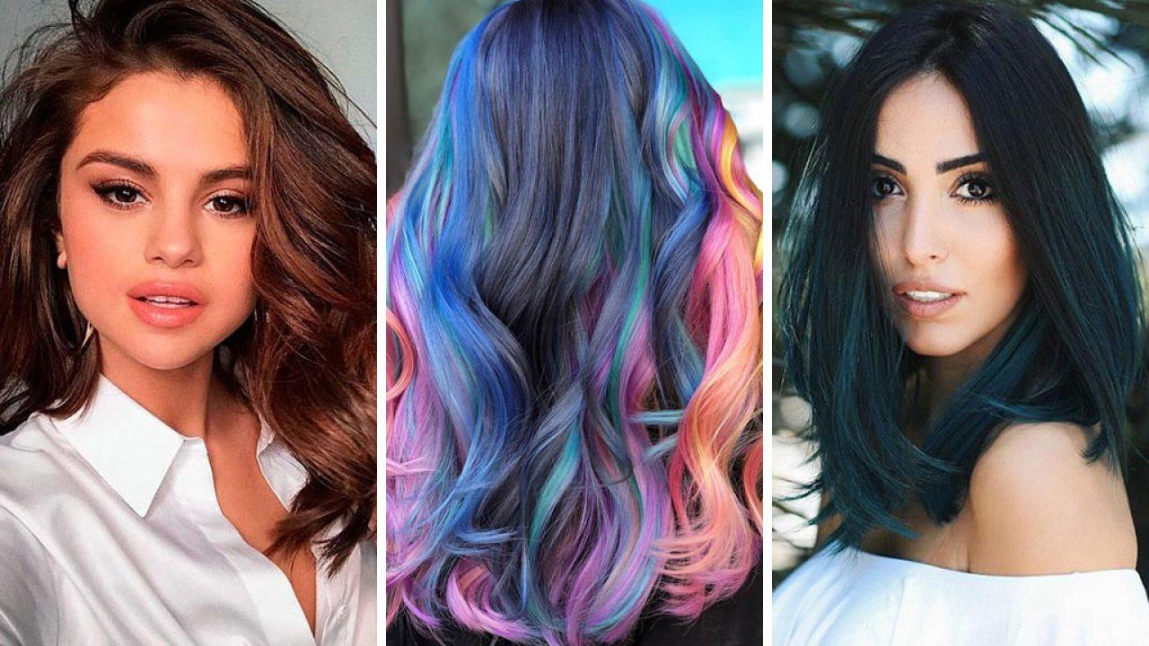 Dari Coklat Sampai Warna Warni Ini Nih Trend Warna Rambut Yang Sedang Populer Saat Ini