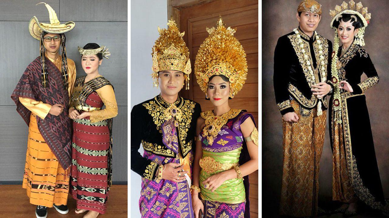 Kumpulan Pakaian Adat Indonesia Dari Sabang Sampai Merauke - Blog Unik