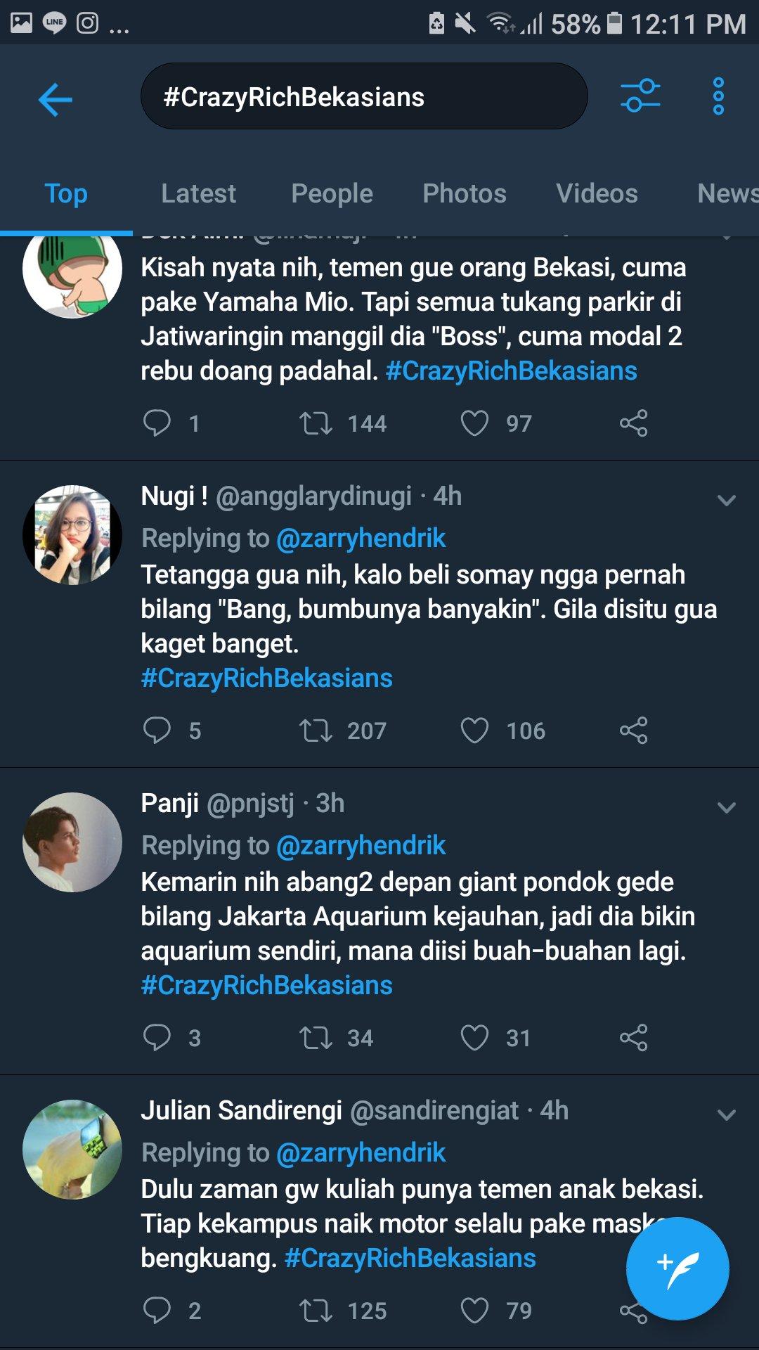 Crazy Rich Surabayan Vs Bekasians Fakta