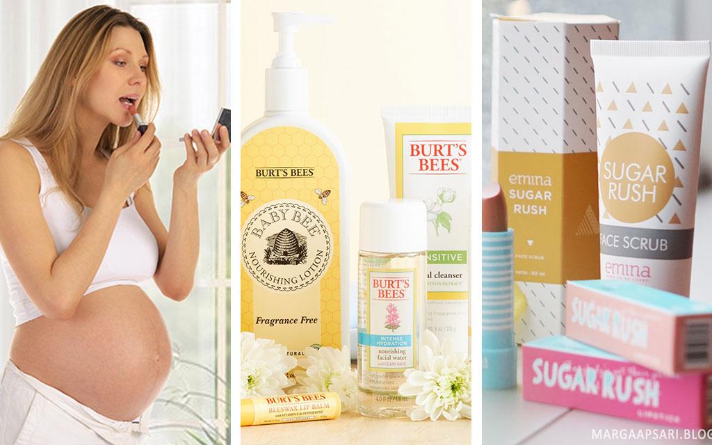 Daftar Produk Kosmetik Yang Aman dan Cocok Untuk Ibu Hamil