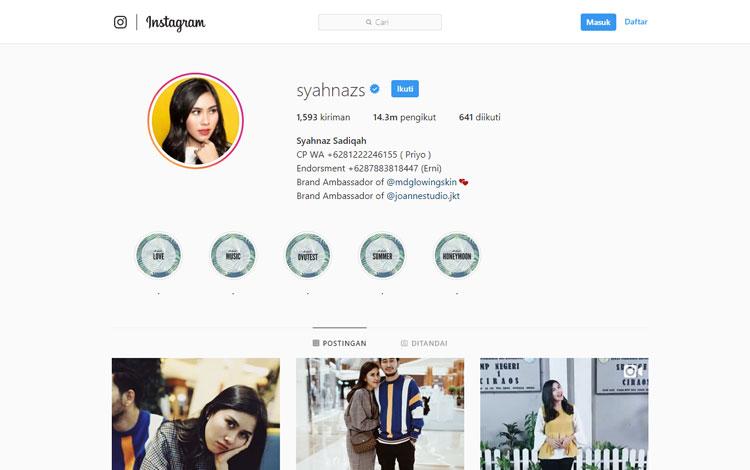 10 Artis Indonesia Dengan Jumlah Followers Instagram Terbanyak Hingga Mencapai Puluhan Juta Blog Unik