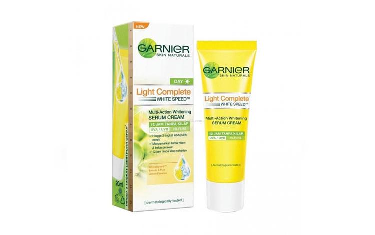 Merk Pelembab Wajah Yang Bagus - Garnier Light Complete Day Cream