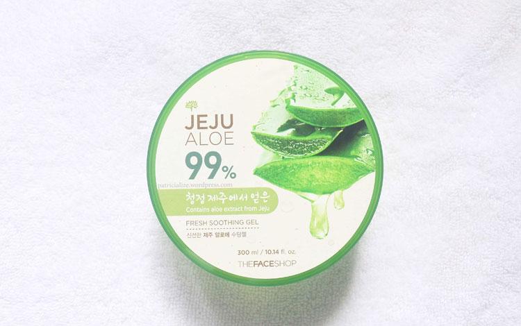 Merk Pelembab Wajah Yang Bagus dan Murah - The Face Shop Jeju Aloe Vera Soothing Gel