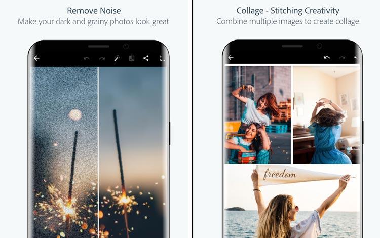Photoshop Express - Aplikasi edit foto Android terpopuler 2018