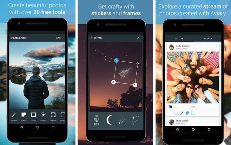 Aviary - Aplikasi edit foto Android terpopuler 2018