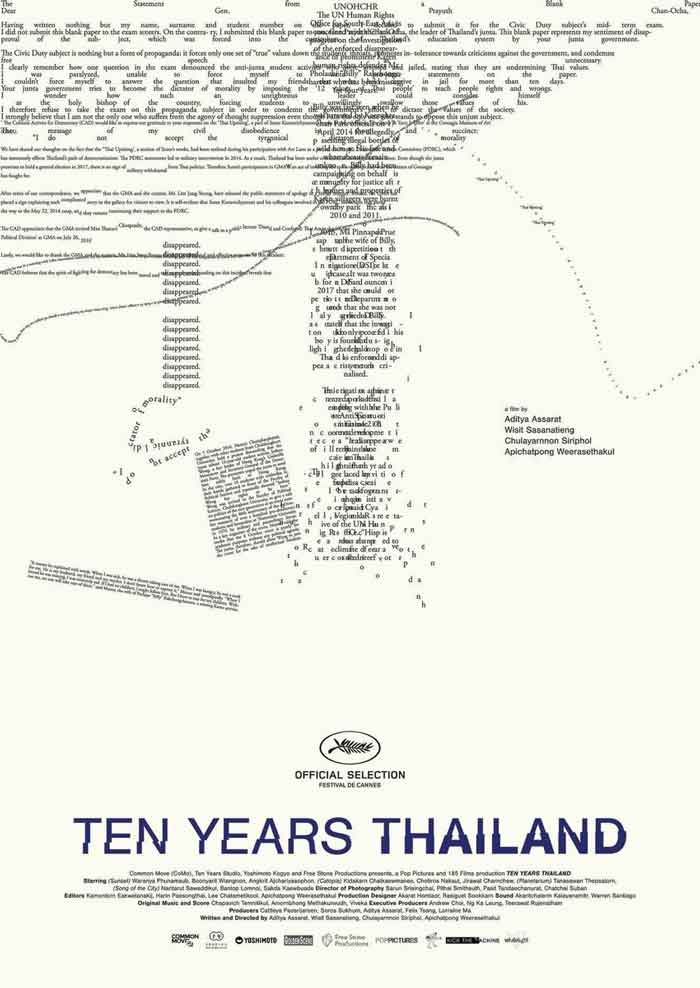 Film Thailand Terbaru 2018 - Ten Years Thailand