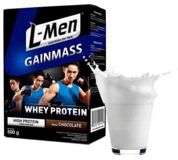 Susu penambah berat badan - L-Men Gain Mass